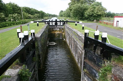 A lock on the Grand Canal